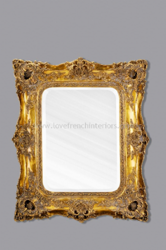 Classic Styled Gold French Mirror 2